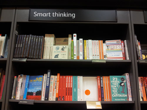 SEO Training With Smart Thinking Bookshelf