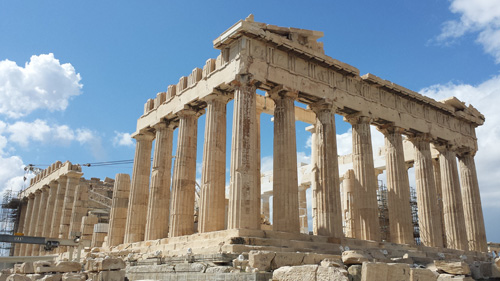 Parthenon in Athens - Philosophy Bedrock - Huh SEO