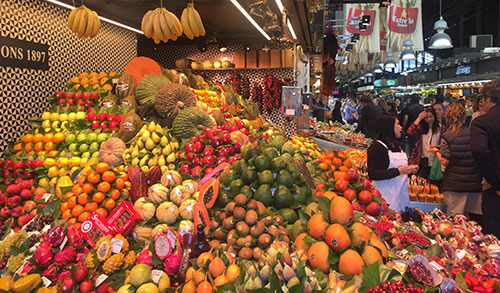 Fresh fruit as fresh content for SEO