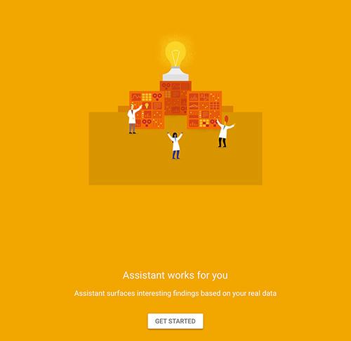 google-analytics-assistant-app-screen